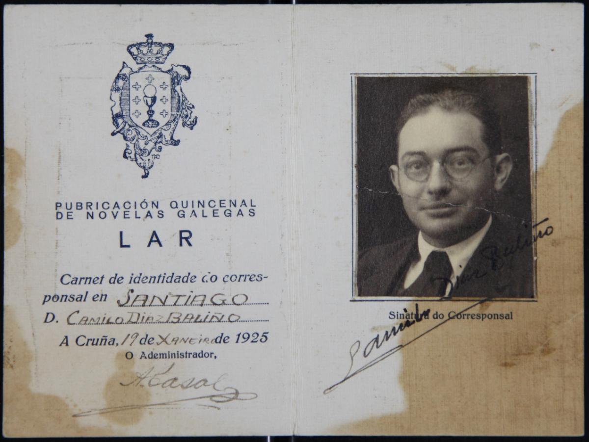 O Día da Ilustración está dedicado a Camilo Díaz Baliño