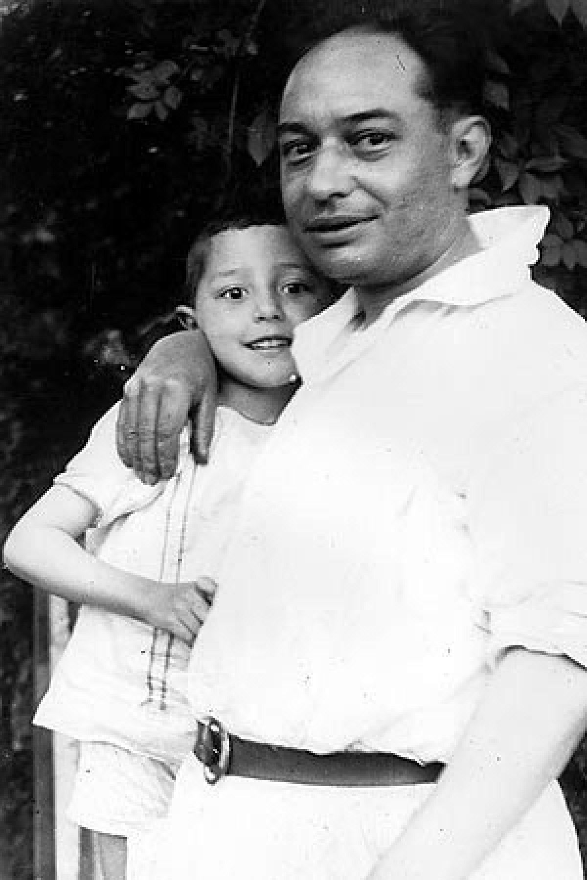 Camilo Díaz Baliño co seu fillo Isaac Díaz Pardo