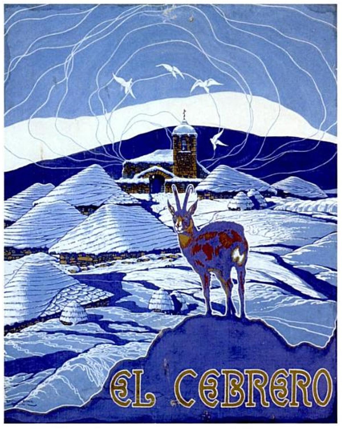 Cartel dedicado ao Cebreiro