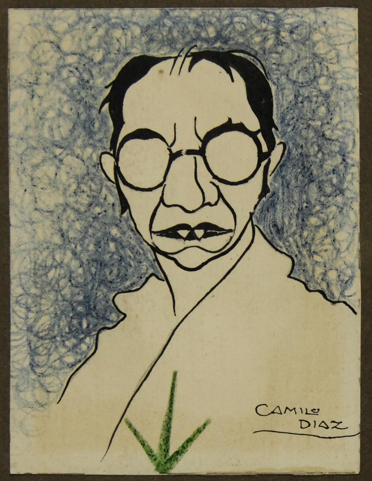 Caricatura de Camilo Díaz