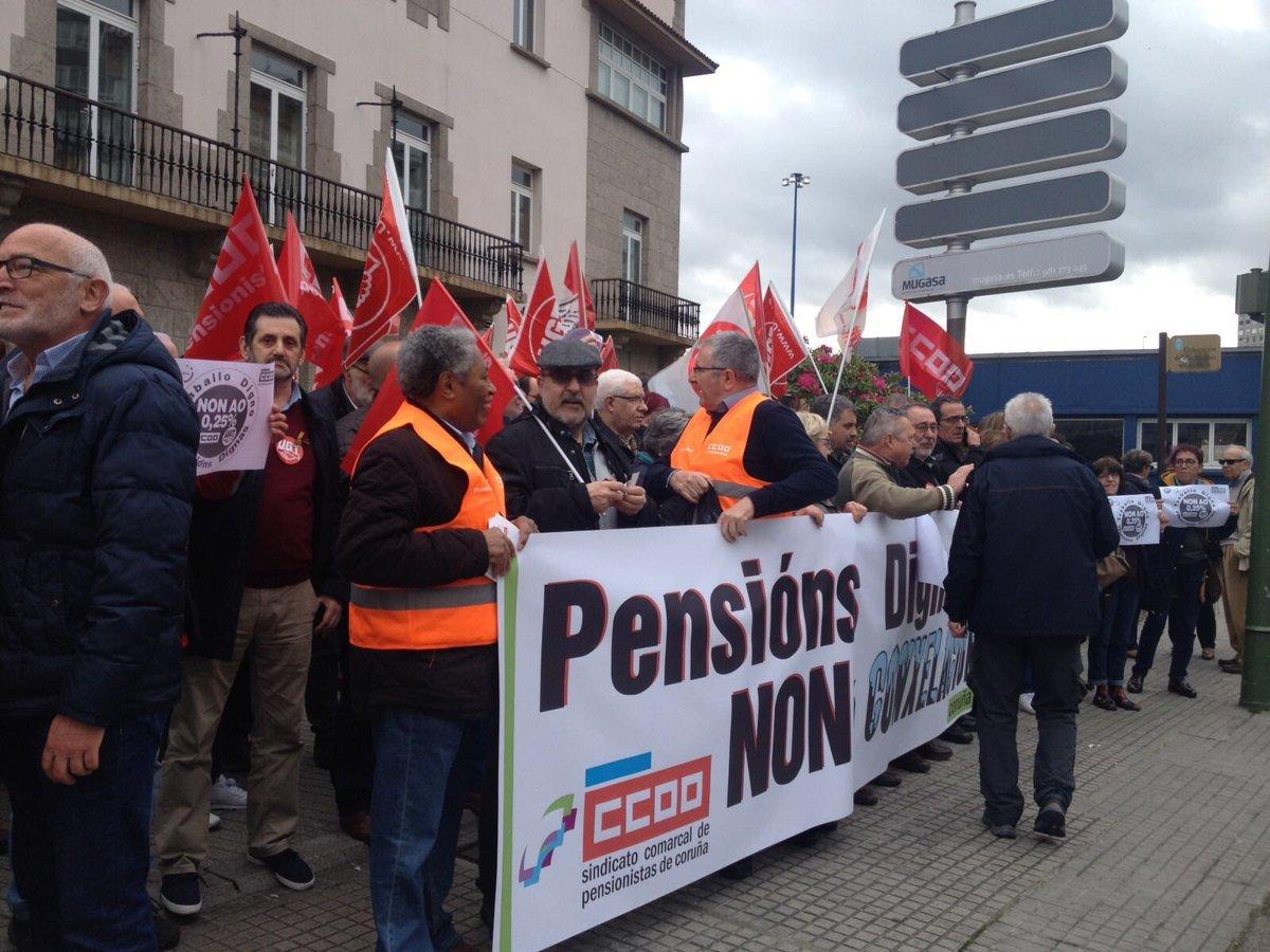 Mobilización na Coruña