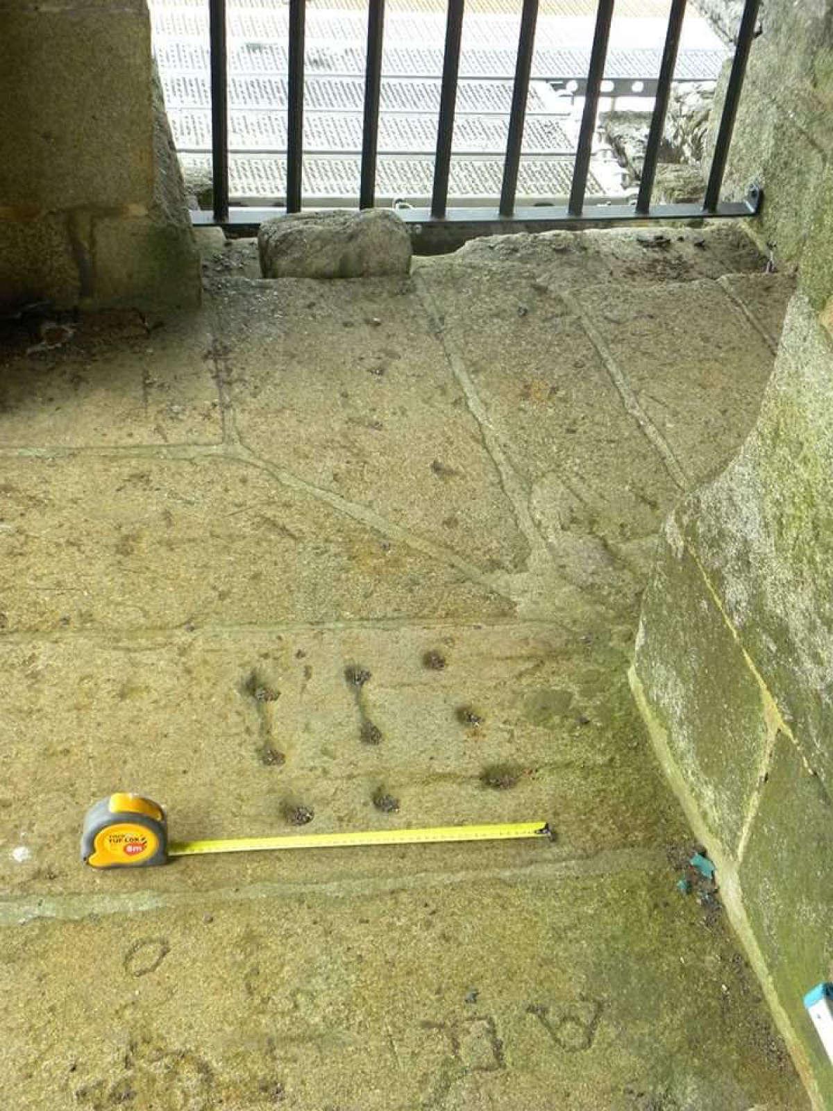 Taboleiro na Torre da Berenguela