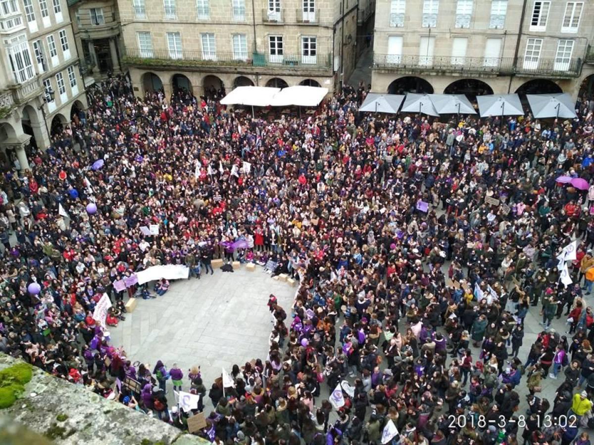 Remate da mobilización feminista en Ourense