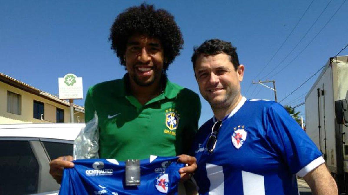 Dante, internacional brasileiro, ex-xogador do Galícia