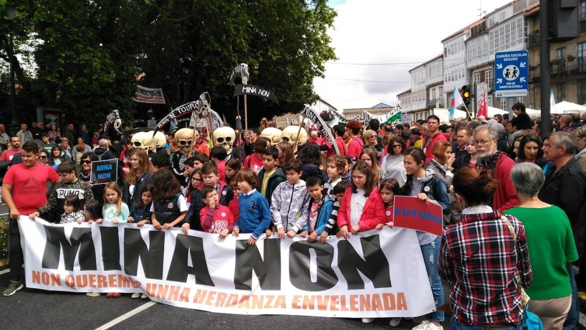 Inicio da manifestación