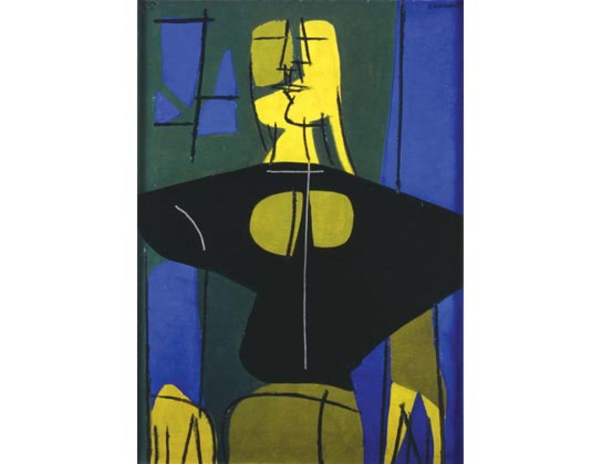 Campesiña en negro e azul (1965)