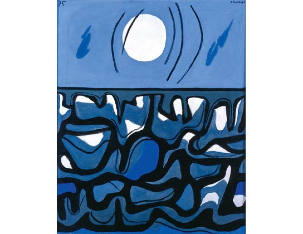 Mar picado e lúa (1975)