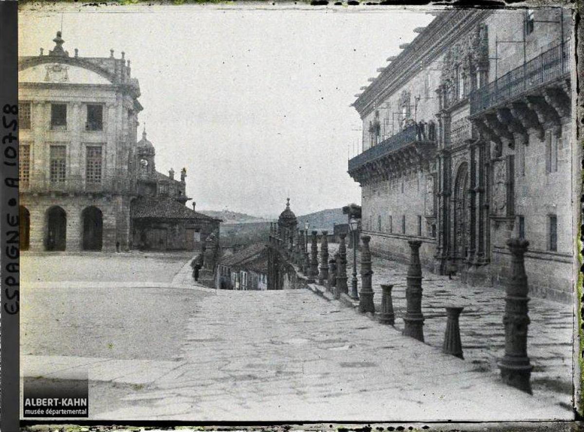Praza do Obradoiro, Santiago de Compostela (1917)