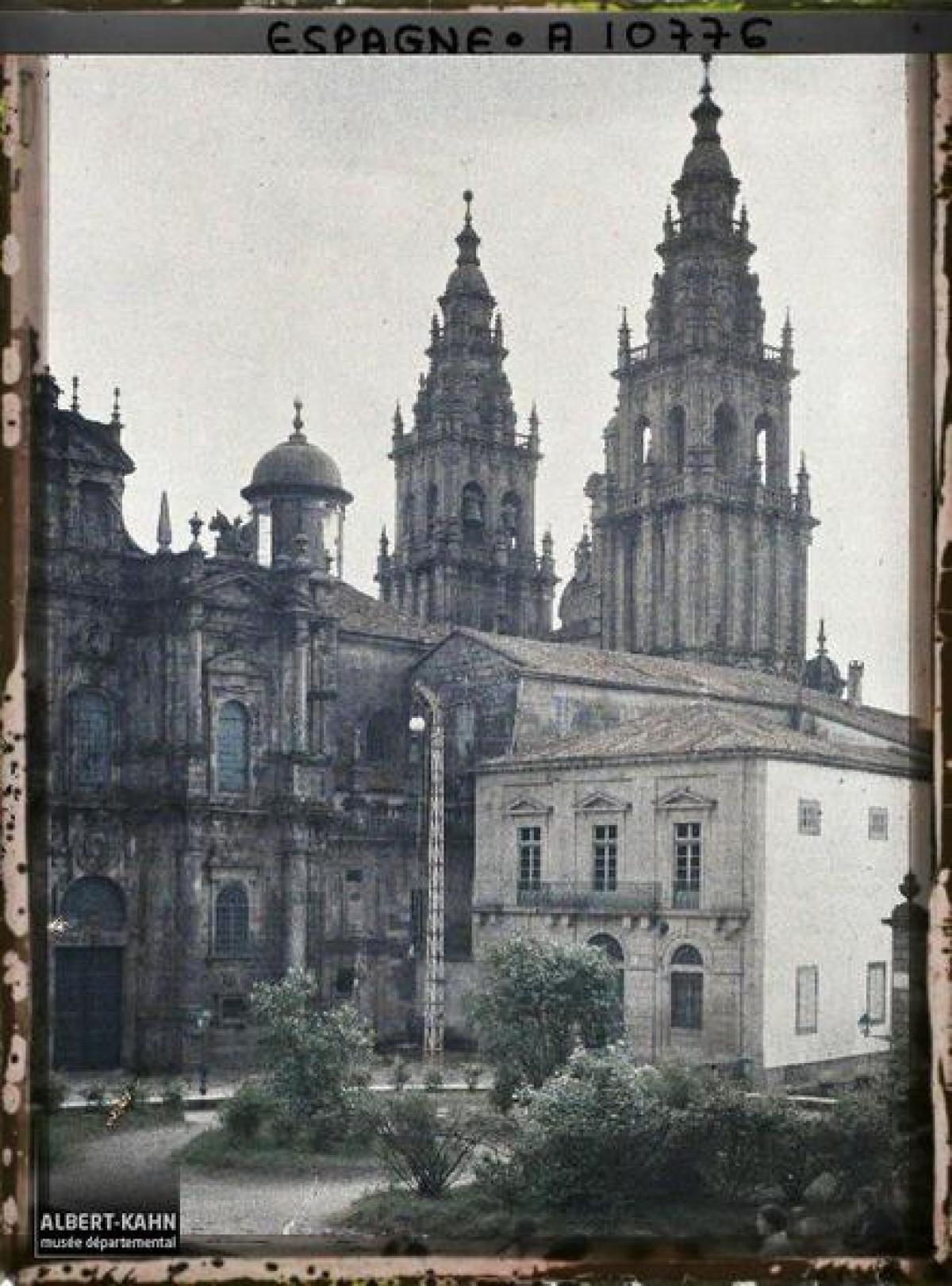 Fachada da Acibecharía, Santiago de Compostela (1917)