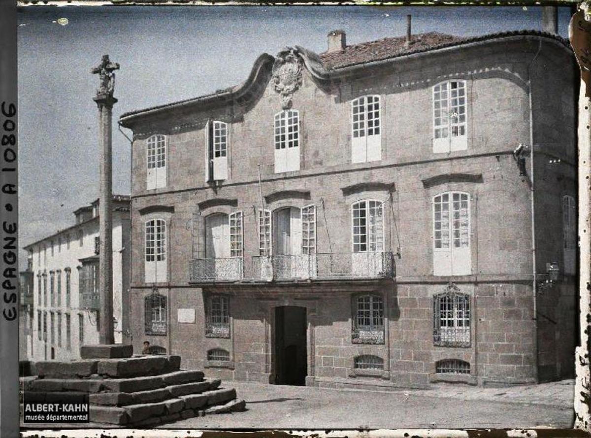 Casa Cornide, A Coruña (1917)