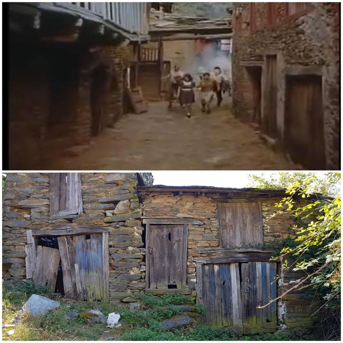 Santoalla en 1988 (en Sempre Xonxa) e na actualidade