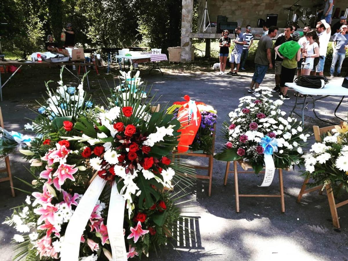 Homenaxe aos irmáns da 'Lejía' en Guitiriz